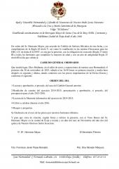 CITACION CABILDO GENERAL DE HERMANOS