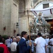 salida Virgen del Valle Coronada 2015